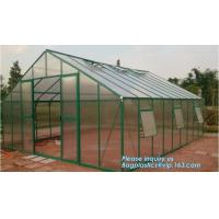 Wholesale Mini Walk In 3 tiers 6 Shelves Greenhouses Portable Plastic Outdoor Green House,Agricultural Green House or Chicken Farm from china suppliers