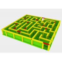 Buy cheap PVC Tarpaulins Blow Up Sport Game Inflatables Labyrinth Maze Kids Playground from wholesalers