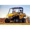 Buy cheap 2 seater 4x4 farm ATV Imported cvt chery efi engine 1100cc 4x4 utv red yellow from wholesalers