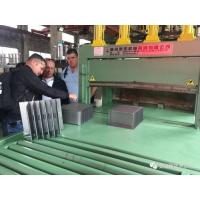 Buy cheap High Efficiency Corrugated Fin Forming Machine , Steel Radiator Fin Forming from wholesalers