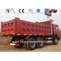 Wholesale 380HP Horsepower USED HOWO Heavy Dump Truck 6X4 Drive 21-30 Ton Load Capacity from china suppliers