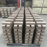 Wholesale Common Kiln Refractory Bricks , Phosphate Bonded High Alumina Bricks Heat Resistant from china suppliers