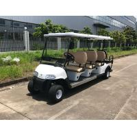 Buy cheap 48V Large Capacity Battery Powered 8 Person Golf Cart With Reverse Folding Seats from wholesalers