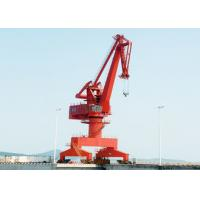 Wholesale High Efficiency Outdoor Yard Port Gantry Crane , Electric 25 Ton Cantilever Gantry Crane from china suppliers