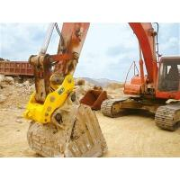 Wholesale High Strength Pin Grabber Quick Coupler , Wear Resistance Excavator Bucket Quick Coupler from china suppliers