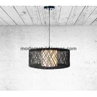 Buy cheap Beautiful Design Rope Wrapped Lamp D60*25cm Compact Size Energy Saving from wholesalers