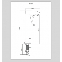 Wholesale Commercial Restaurant 51mm Bar Sink Faucet from china suppliers