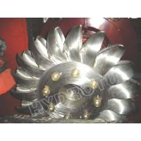 Wholesale Hydro Pelton Turbine Runner  with Forge CNC Machining for High Head Hydropower Project from china suppliers