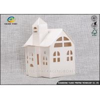 Wholesale Candy / Cookie Folding Gift Boxes Special House Shaped Strictly Quality Control from china suppliers