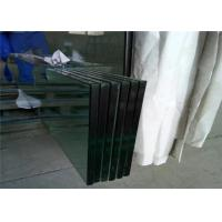 Buy cheap Temperable Grade Tempered Safety Glass , Flat Solid Toughed Glass from wholesalers