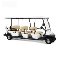 China Electric 48V 12 Seater Golf Cart , Battery Powered Club Car Electric Golf Cart on sale