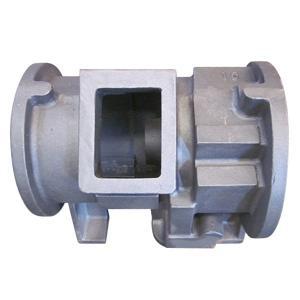 China Resin Sand Casting Ductile Cast Iron Machine Moulded Nodular Cast Iron Compressor Housing on sale