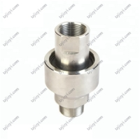 Buy cheap Stainless steel 304 high pressure swivel joint for hydraulic oil and water BSP from wholesalers
