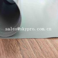 China Customized PVC Coated Polyester Oxford Fabric Green PVC Coated Fabric Tarpaulin For Truck Cover on sale