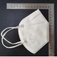 Wholesale Flexible Nose Clip Kn95 Medical Mask Hospitals For Working Running Cleaning from china suppliers