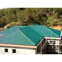 Buy cheap 1050mm width Acoustic Corrugated Pvc Roofing Sheets For Villa / Hotel from wholesalers