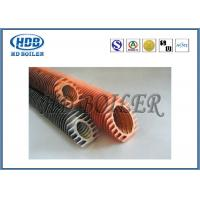 Wholesale Industrial Boiler Economizer Heat Exchanger Tubes , Spiral Fin Tube For Heat Transfe from china suppliers
