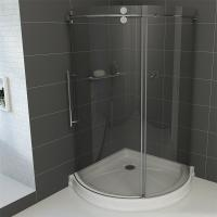 Buy cheap Frameless Round Sliding Shower Enclosure with 10mm Clear Glass and Stainless Steel Hardware from wholesalers