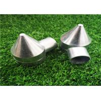 Wholesale Polished Silver Aluminum Chain Link Fence Bullet Caps 2.56''X3.74'' Easy Install from china suppliers