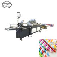 Wholesale Professional manufacturing factory supply eco-friendly paper drinking straw making machine paper straw tube machine from china suppliers
