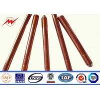 Wholesale Professional Copper Bonded Ground Rod Copper Grounding Bar 1/2 5/8 3/4 from china suppliers