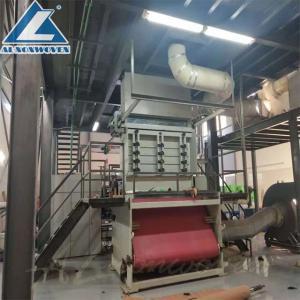 Buy cheap pp nonwoven fabric making machine line/ S/SS/SSS nonwoven fabric prodution line from wholesalers