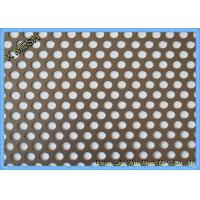 Wholesale Round Hole Hot Dipped Galvanized Decorative Perforated Metal Panels Mild Steel / Carbon Steel from china suppliers