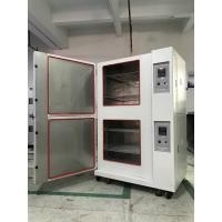 Quality Stackable Climatic Test Chamber Glass Fiber Insulation Single Stage Compression Refrigeration for sale
