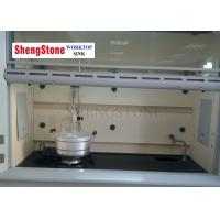 Quality CE SGS Fume Hood Parts Phenolic Resin Laboratory Countertops Matte Surface for sale