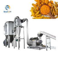Wholesale Turmeric Pulverizer Grinder 22kw Spice Powder Machine from china suppliers