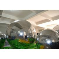 Wholesale Colorful Inflated Helium Balloons / Inflatable Mirror Ball Ornaments For Advertising from china suppliers