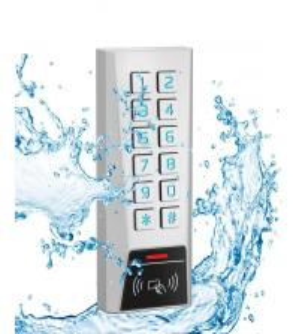 Buy cheap Metal RFID Reader 125kHz Proximity Card Door Access Control Password Keypad from wholesalers
