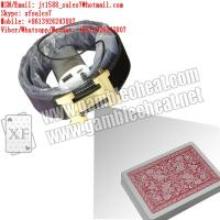 Buy cheap XF new leather strap camera for poker analyzer from wholesalers