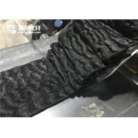 Wholesale Polyamide Nylon Staple Fiber Dope Dyed Black Color Crimped Fiber from china suppliers
