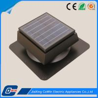 Wholesale High Profile Vamper Air Solar Powered Exhaust Fan Roof Mount For Cold Areas from china suppliers