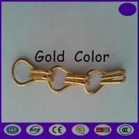 Wholesale Gold color Aluminium Chain Door Fly Screen - Stripes from china honest dealer from china suppliers