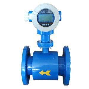 220V Liquid / Solid Magnetic Type Flow Meter Abrasion Resistance
