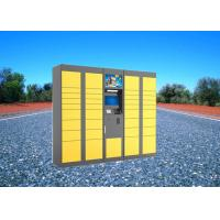 China Electric Digital Parcel Delivery Lockers For Retail Store , Intelligent 15 Inch Touch Screen on sale