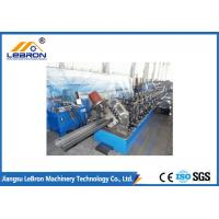 China Steel structure 6m to 8m long C purlin roll forming machine / C Z U purlin roll forming machine on sale