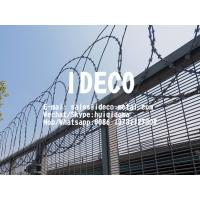 China Flat Wrapped Profile Razor Wire Coils, Flatwrap Razor Wire Fence Topping for Perimeter Security on sale