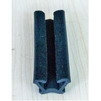 Wholesale Custome Rubber Extrusion Flocked Channel Rubber Seal for window from china suppliers