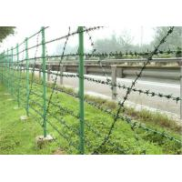 Wholesale Easy Construction Anti Climb Fencing Size Customized Prison Security Fence from china suppliers