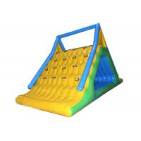 Buy cheap Challenge Inflatable Summit Express Climbing Walls With Slide / Water Park Equipment from wholesalers