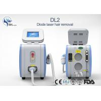 China 125J/cm2 Microchannel Cooling Diode Laser Hair Removal Permanent Painless on sale