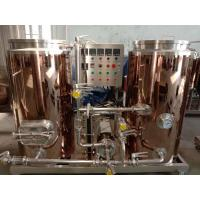 China Automatic Control 4BBL Small Brewery Equipment Electricity Heating Eco Friendly on sale