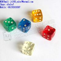 Wholesale XF Customized Casino Acrylic Dices for different dices games/dices cheat/dices games cheat/infrared lens from china suppliers
