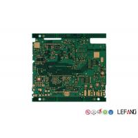 Buy cheap 4 Layers PCB Control Board FR - 4 Base Material For Industrial Signal Transmission from wholesalers