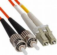 Buy cheap Duplex Fiber Jumper ST to LC Multimode Fiber Optic Patch Cord in Riser PVC Jakcet from wholesalers