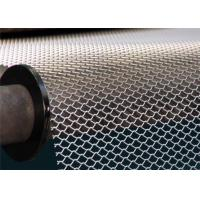 Wholesale Flattened Expanded Metal Mesh Sheet wear resistance For Building Decoration from china suppliers