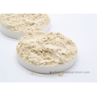 Wholesale HACCP HALAL Natural Wheat Gluten Powder Slightly Yellowish from china suppliers